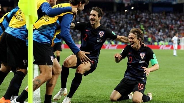 Πάτησε το... πτώμα της Αργεντινής η Κροατία!