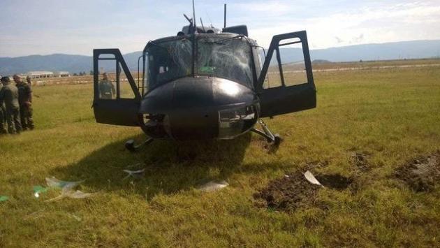 Ατύχημα με ελικόπτερο Huey στην 1η ΤΑΞ.Α.Σ. Στεφανοβικείου