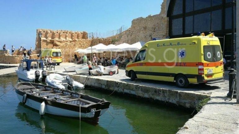 Χανιά: Σε περιπέτεια εξελίχθηκε η βόλτα στο Ενετικό λιμάνι