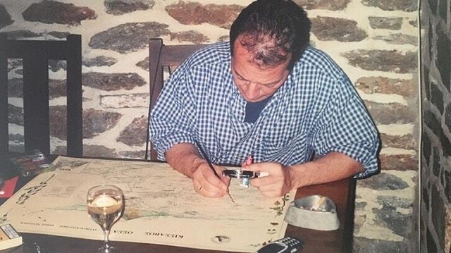Χάρης Τζίκας: Ένας Λαρισαίος που φτιάχνει χάρτες όπως στον… Μεσαίωνα