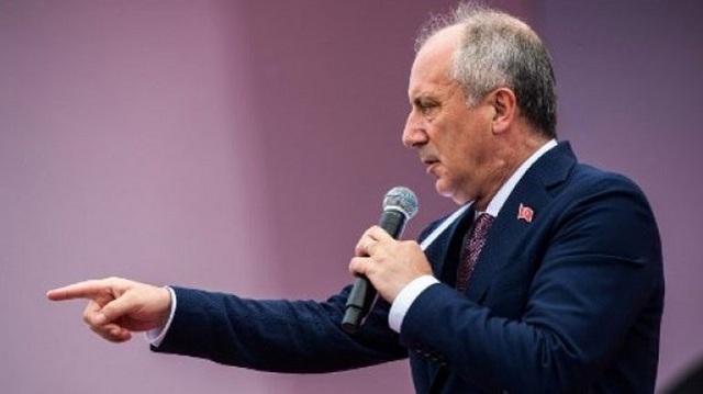 Ο Μουχαρέμ Ιντζέ «αναγνωρίζει» τη νίκη του Ρετζέπ Ταγίπ Ερντογάν στις προεδρικές εκλογές