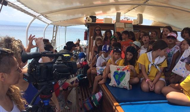 Δράση κατά της πλαστικής σακούλας από μαθητές στη Σκιάθο