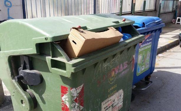 Τρίκαλα: Εφαρμογή εντοπίζει πότε ένας κάδος σκουπιδιών πρέπει να αδειάσει