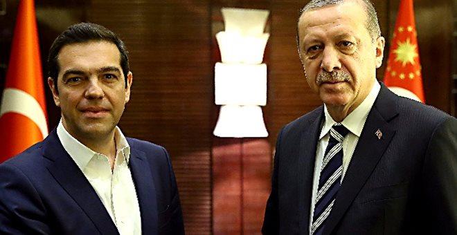 Επικοινωνία Τσίπρα με Ερντογάν. Έθεσε θέμα απελευθέρωσης των 2 στρατιωτικών