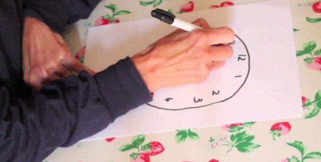 Το τεστ με το ζωγραφισμένο ρολόι για Αλτσχάιμερ και γνωστική εξασθένηση