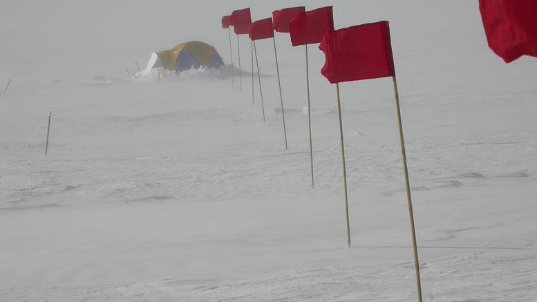 Το πιο κρύο μέρος του πλανήτη με θερμοκρασία στους -98 βαθμούς