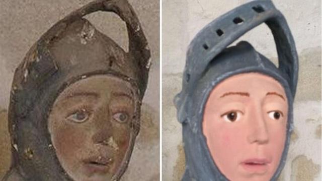 Ισπανία: Συντηρητής της κακιάς ώρας κατέστρεψε θρησκευτικό άγαλμα ηλικίας πέντε αιώνων