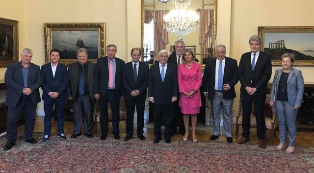 Στον Πρόεδρο της Δημοκρατίας ο Δήμαρχος και οι Αντιδήμαρχοι Ζαγοράς -Μουρεσίου