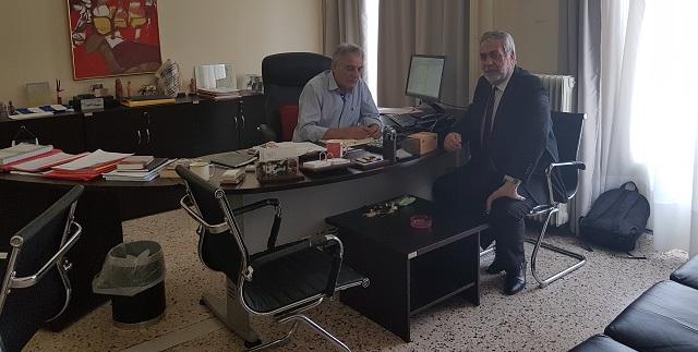 Στην Αθήνα ο δήμαρχος Αλμυρού για συνεργασίες με παράγοντες υπουργείων