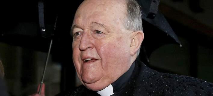 12 μήνες φυλακή σε Αυστραλό αρχιεπίσκοπο για συγκάλυψη σεξουαλικής κακοποίησης παιδιών