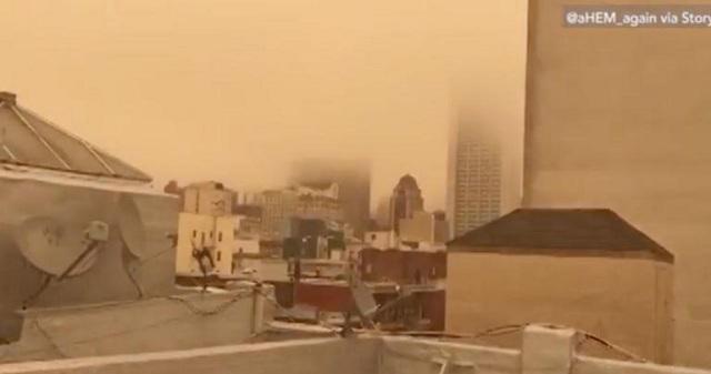 Οι φωτιές «έπνιξαν» το Σαν Φρανσίσκο [εικόνα]