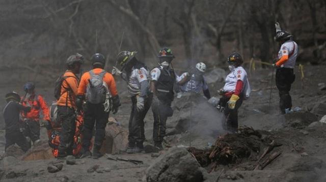 Στους 332 οι αγνοούμενοι από την έκρηξη του ηφαιστείου Φουέγο