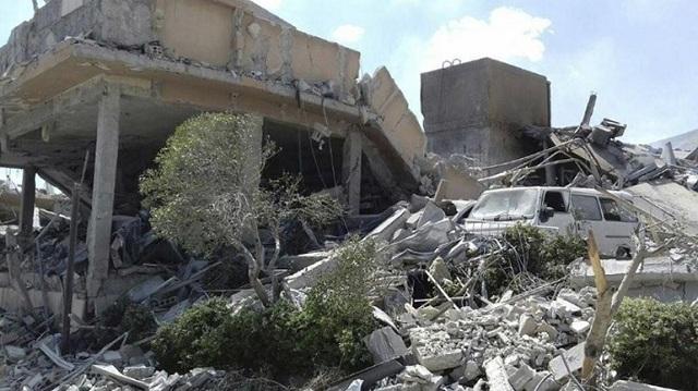 Σφοδροί βομβαρδισμοί στην επαρχία Ντεράα της Συρίας