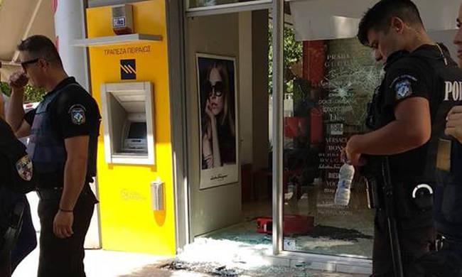 Πυροβολισμοί στον Άλιμο σε ληστεία χρηματαποστολής