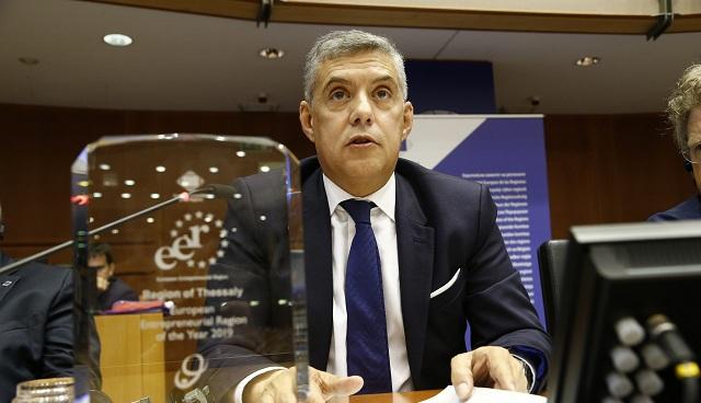 Εισηγητής της Επιτροπής των Περιφερειών της ΕΕ για το πρόγραμμα InvestEU ορίστηκε ο Περιφερειάρχης