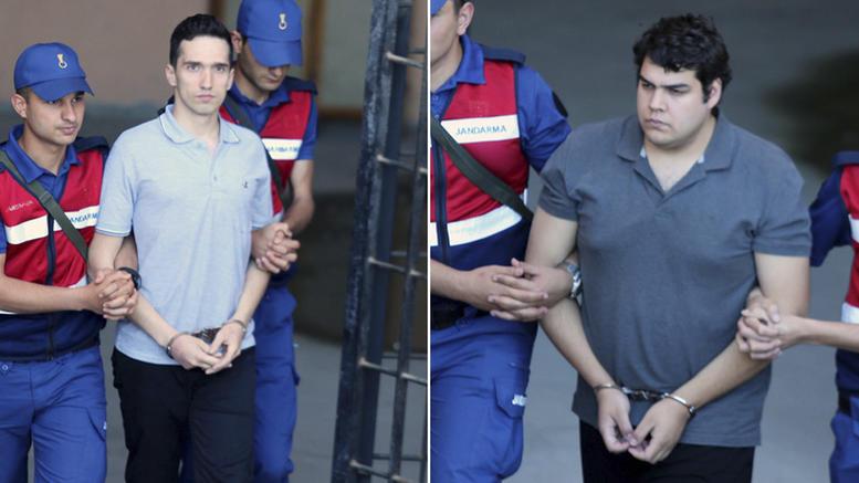Δώστε μας τους «8» για να έχουν δίκαιη δίκη οι «2» Ελληνες