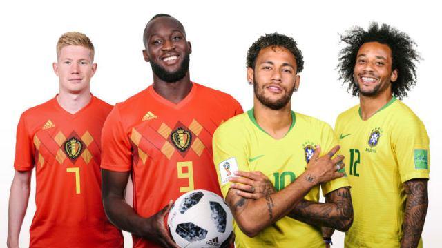 Και σαν πρόωρος τελικός το Βραζιλία - Βέλγιο