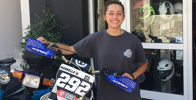 Μαρκέλλα Κωστάκη: Αναβάτρια motocross ετών... 15!