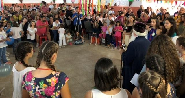 Γιορτή λήξης της 2ης κατασκηνωτικής περιόδου στον Άγιο Λαυρέντιο