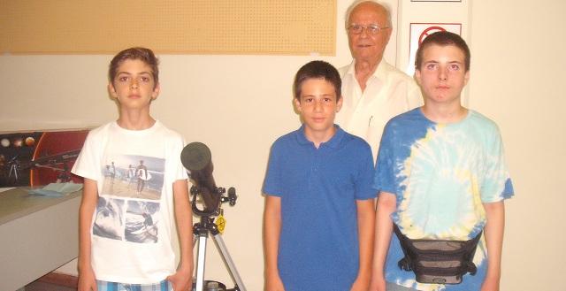 Βραβεύτηκαν εκκολαπτόμενοι αστρονόμοι