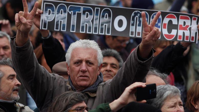 Οργή στην Αργεντινή για την συμφωνία Μάκρι με το ΔΝΤ