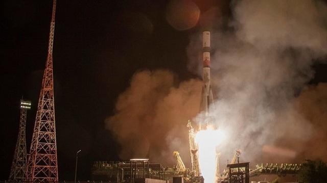Φορτηγό διαστημόπλοιο μετέφερε εφόδια στο Σογιούζ σε χρόνο-ρεκόρ