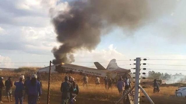 Νότια Αφρική: Τουλάχιστον 19 τραυματίες από συντριβή αεροσκάφους