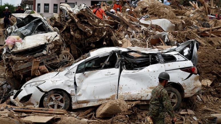 Ιαπωνία: Στους 179 οι νεκροί, πολλοί ακόμα αγνοούνται