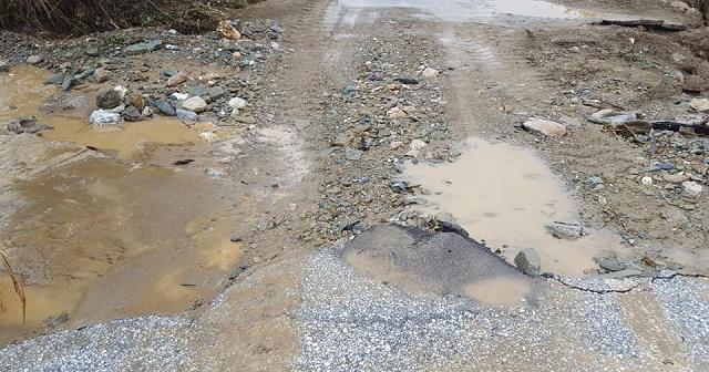 880.000€ για την αποκατάσταση ζημιών στο δρόμο Κερασιάς -Καναλίων