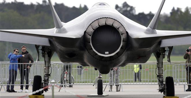 Άρση περιορισμών στην παράδοση των F-35 στην Τουρκία ζητά η κυβέρνηση Τραμπ