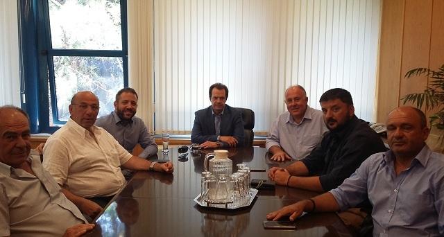 Συνάντηση στο Υπ. Υποδομών για την αποκατάσταση των ζημιών στο Δήμο Ρ. Φεραίου