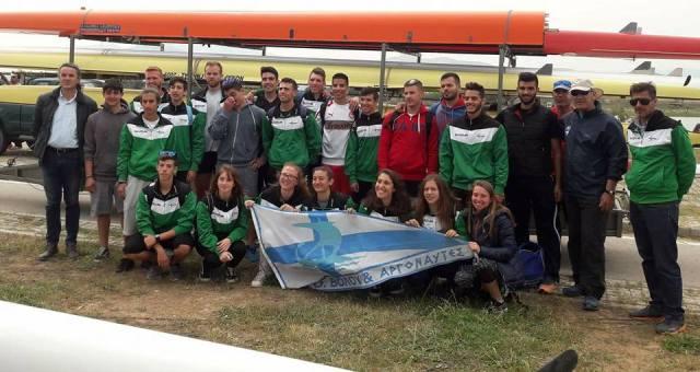 Με οκτώ αθλητές στο Πανελλήνιο Κωπηλασίας ο ΝΟΒΑ