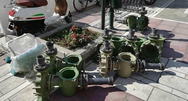 Εκλεψε αντλίες υδάτων και εξαρτήματα από αθλητική εγκατάσταση στον Τύρναβο