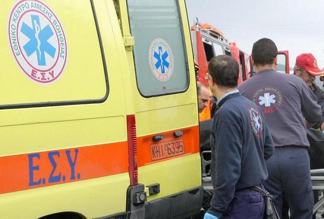Μία γυναίκα νεκρή και δύο τραυματίες σε τροχαίο έξω από τη Θεσσαλονίκη