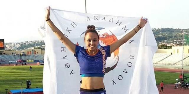 Σημαντική η 4η θέση για την Βέργου στο Πανελλήνιο Πρωτάθλημα Στίβου