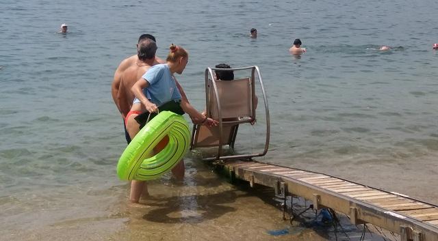 Πρώτο μπάνιο για τον «ΙΠΠΟΚΑΜΠΟ» στον Άναυρο
