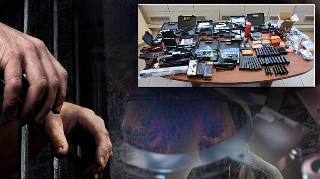 «Προμήθευαν» με όπλα και πυρομαχικά όλη τη χώρα