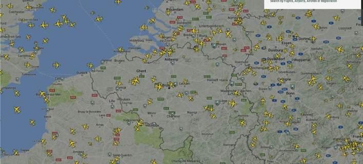 Χάος στο Βέλγιο: Εκλεισε ο εναέριος χώρος λόγω σφάλματος σε υπολογιστή
