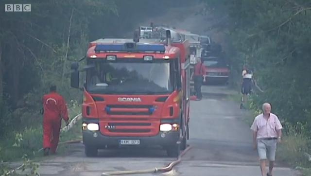 Καύσωνας στη Φινλανδία - Φωτιές στη Σουηδία