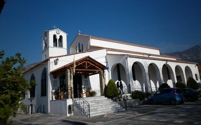 Πανηγυρίζει ο Ναός της Αγίας Παρασκευής Βόλου