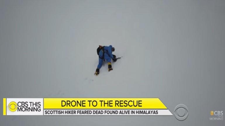 Χάθηκε στα Ιμαλάϊα και βρέθηκε χάρη σε… drone! (vid)