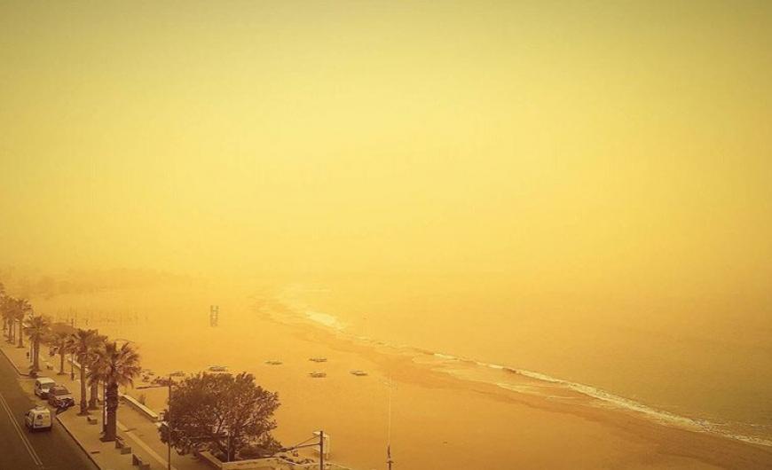 Κοκτέιλ καύσωνα και αφρικάνικης σκόνης τη Δευτέρα