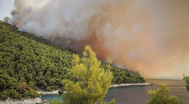 Εμπρησμός η φωτιά στη Σκόπελο –Ενας εγκαυματίας