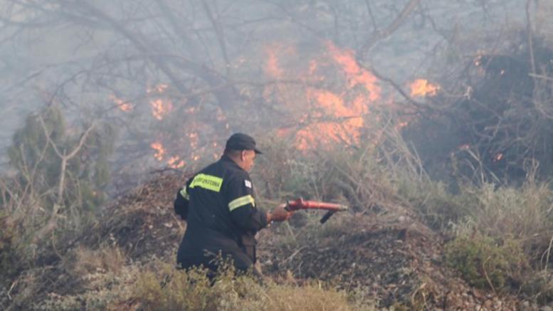 Προσαγωγή υπόπτου για την μεγάλη φωτιά στην Κινέτα