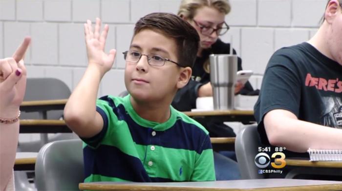 Ο Έλληνας 11χρονος-ιδιοφυία θέλει να αποδείξει ότι έκανε λάθος ο Χόκινγκ