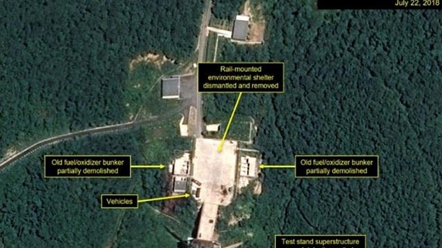 Η Βόρεια Κορέα άρχισε να κατεδαφίζει εγκαταστάσεις στο πεδίο εκτόξευσης δορυφόρων Σόχε