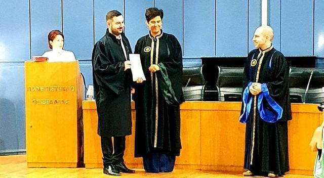 Ο Σύλλογος Φοροτεχνικών συγχαίρει μέλος του για τον διδακτορικό του τίτλο