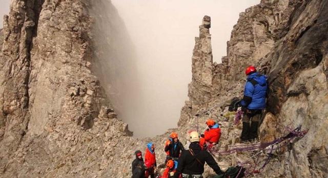 Επιχείρηση διάσωσης ορειβατών σε δύσβατη περιοχή στον Όλυμπο