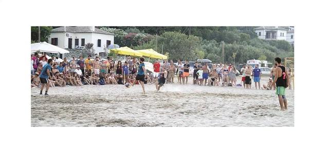Beach Soccer στο Χορευτό
