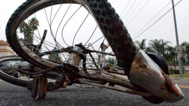 Παράσυρση ποδηλάτη